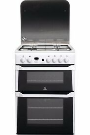 Indesit 60cm double gas oven