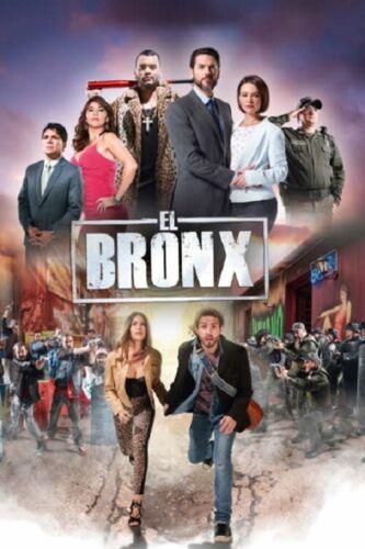 TELESERIE COLOMBIANA 2019,EL BRONX,21 DVDS