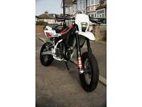 2013 HUSQVARNA SMS SM 125 ROAD LEGAL 2 STROKE SUPERMOTO MOTOCROSS SWAP FOR A CAR NOT KTM YAMAHA YFZ