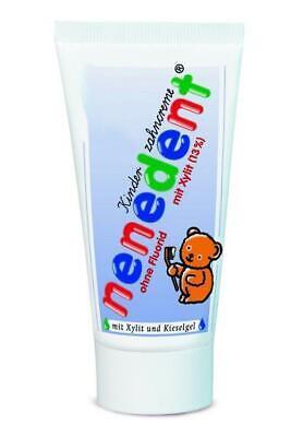 Nenedent Kinderzahncreme ohne Fluorid Standtube 50 ml PZN: 8771777