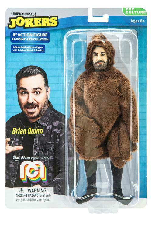 BRIAN QUINN 8-Inch Mego Action Figure Impractical Jokers Mar