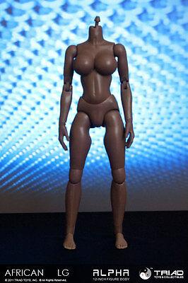 Triad Toys Headless African American Lgb Alpha Sixth 1 6Th Scale Female Body