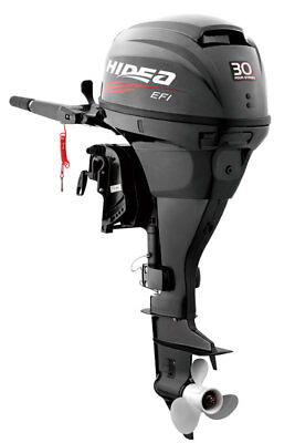 "New Hidea 30hp EFI 15"" Shaft Electric Start Remote Outboard Fishing Boat Motor"