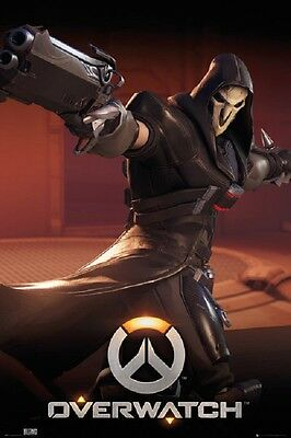 OVERWATCH Reaper POSTER Blizzard Gamer Video Game Poster
