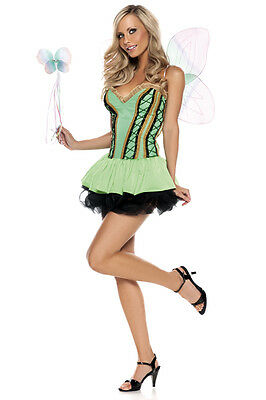 nwt BE WICKED sexy SPRITE fairy NYMPH pixie FAIRYTALE halloween PARTY costume - Wicked Fairy Halloween Costumes