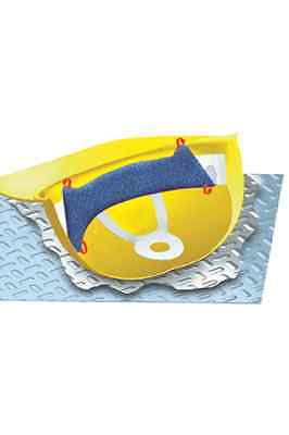 Toppers Hard Hat Sweatbands Navy Blue - Sweat Bands For Hardhats