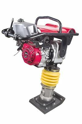 Honda Gx160 Series 5.5hp Tamper Vibratory Rammer Plate Compactor Jumping Jack