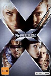 X-Men 2 (2002) Hugh Jackman - NEW DVD - Region 4