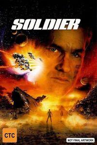 Soldier - DVD LIKE NEW REGION 4*VERY RARE PAL R4 VERSION* KURT RUSSELL FREE POST