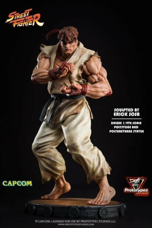 PROTOTYPEZ Street Fighter Classic Ryu Quarter Scale 1:4 scale Statue Figure NEW