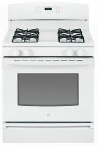 GE Gas Range Model JCGBS60DEFWW for Parts or Repair