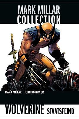MARK MILLAR Collection 2: Wolverine- Staatsfeind  Hardcover   Panini Neuware