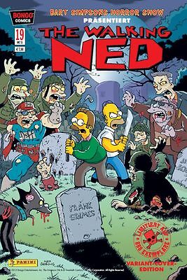 BART SIMPSONS HORROR SHOW # 19 VARIANT - Lim. 888 Ex. - COMIC ACTION 2015 - TOP