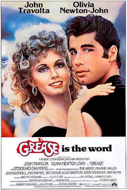 GREASE - CLASSIC MOVIE POSTER 24x36 - 52934