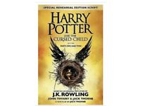 Harry Potter and the Cursed Child - Parts One and Two (Special Rehearsal... Rare