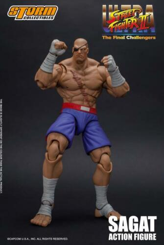 Ultra Street Fighter II Sagat 1/12 action figure Storm Collectibles