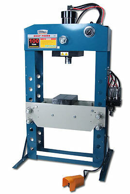 Baileigh Hsp-100a 100 Ton Airhydraulic Shop Press Free Shipping