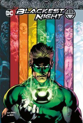 BLACKEST NIGHT HARDCOVER GESAMTAUSGABE deutsch US 0,1-8 VARIANT-HC Green Lantern