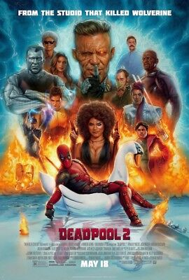 Deadpool 2   One Sheet Movie Poster 24X36   Marvel 52904