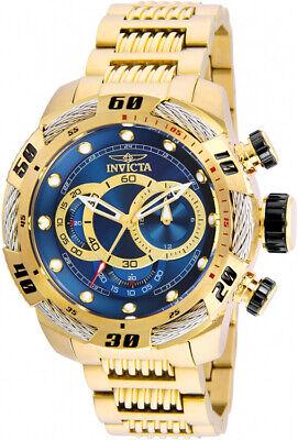 Invicta Men's Speedway Quartz Chrono Gold Plated Stainless Steel Watch 25483