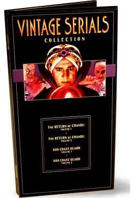 Vintage Serials Collection (The Return of Chandu / S.O.S. Coast Guard) (4-DVD