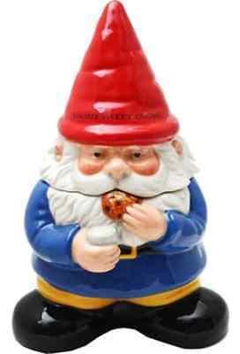 Gnomes: Gnome Sweet Gnome: Ceramic Cookie Jar