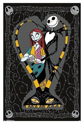 Nightmare bevor Weihnachten - Jack und Sally Paar Poster 22x34 - Film 16634