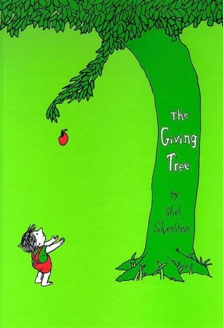 The Giving Tree by Shel Silverstein (Hardback)