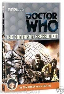 DOCTOR DR WHO SONTARAN EXPERIMENT DVD TOM BAKER New Sealed Original UK Rel R2
