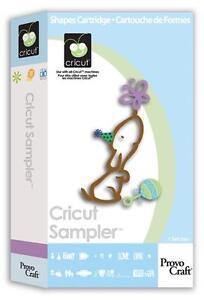 Cricut Sampler Cartridge - $35