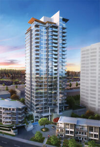 Brand New 1 Bedroom Condo minutes from skytrain and SFU