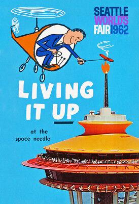 Fair Space Needle (Seattle World's Fair - Space Needle 1962 Advertising)