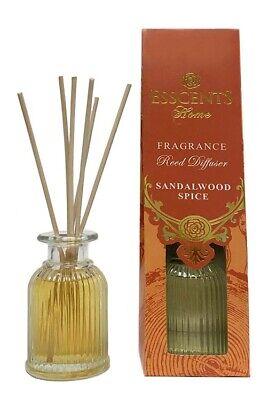 Karma Esscents 80ml Oil + 6 Sticks Reed Diffuser Set (Sandalwood Spice) ES57SS Spice Reed Diffuser Oil