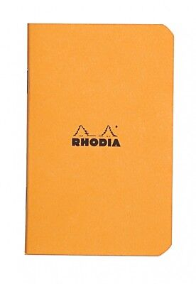 Rhodia Staplebound - Notebook - Orange - Graph - 3 X 4.75