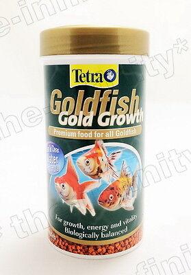 113G Tetra Goldfish Food Fish Gold Growth Aquarium Granules Mini Pellets S 250Ml