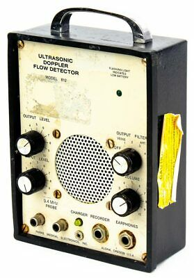 Parks Medical Electronics 812 Portable Ultrasonic Doppler Flow Detector No Probe