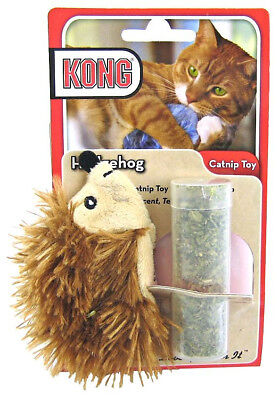 Kong Refillable Catnip Toy - Kong Refillable Catnip Toy - Hedgehog