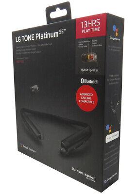 LG Tone Platinum SE HBS-1120 Wireless Stereo Headset Black OEM New In -