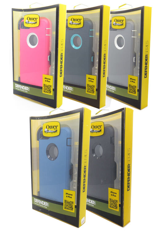 New OEM Otterbox Defender Series Case Cover for Iphone 6 Plu