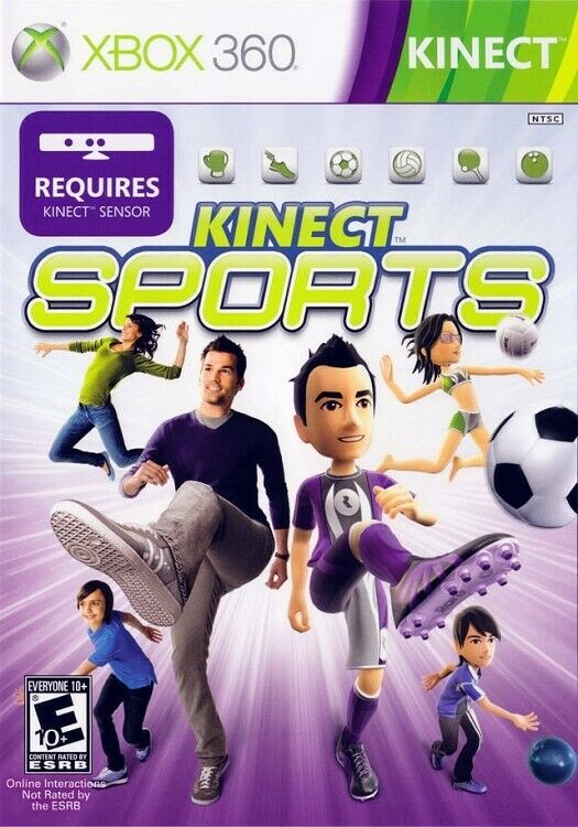 Kinect Sports Xbox 360 Game - $10.97