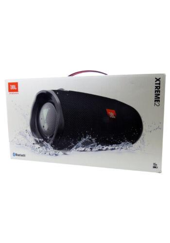 JBL Xtreme 2 Portable Bluetooth IPX7 Waterproof Wireless Speaker Black New