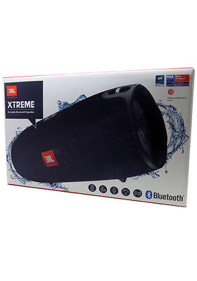 New JBL Xtreme Portable Wireless Splashproof Bluetooth Speaker Black In Retail