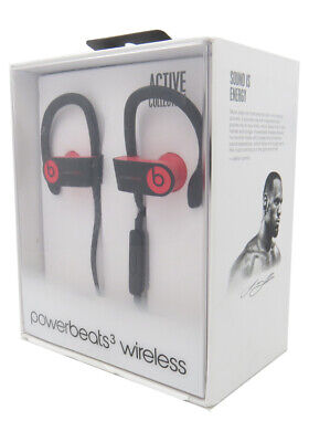 Beats by Dr Dre Powerbeats3 In-Ear Wireless Headphones Siren Red New In Retail