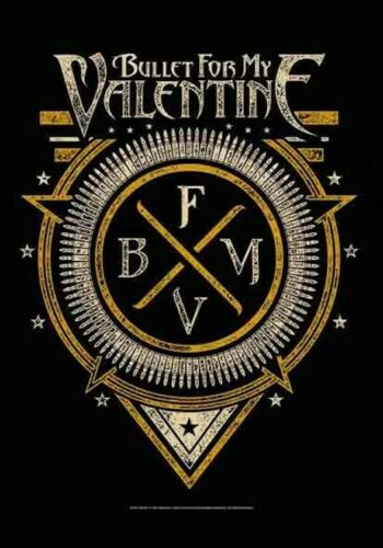 """Bullet For My Valentine Fabric Poster Flag 30"""" x 43"""""""