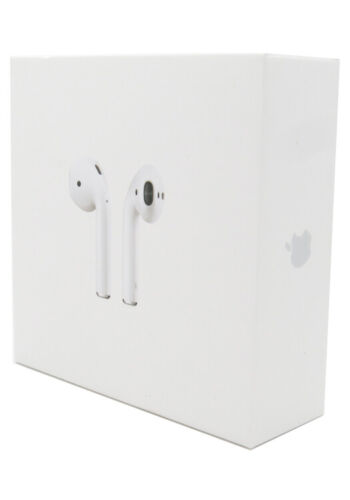 Apple AirPods 2nd Generation Wireless Earbuds & Charging Case MV7N2AM/A New OEM