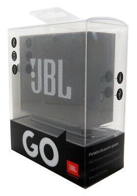 JBL Go Portable Bluetooth Wireless Speaker Black In Retail Authentic