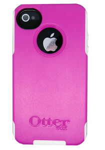 NEW IPHONE 4 4S 4 S OTTERBOX COMMUTER SERIES CASE / COVER PINK AVON