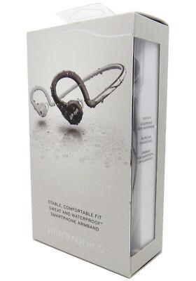 Plantronics Backbeat Fit Bluetooth Headphones Wireless Music Waterproof Black
