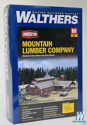 3058 Walthers Cornerstone Mountain Lumber Company Sawmill -Kit HO scale