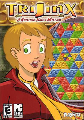 TRIJINX A Kristine Kross Mystery Puzzle PC Game NEW in BOX